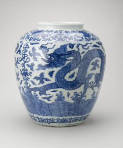 Blue-and-white Dragon Jar, Ming dynasty (1368–1644) Royal Collection Trust / © Her Majesty Queen Elizabeth II